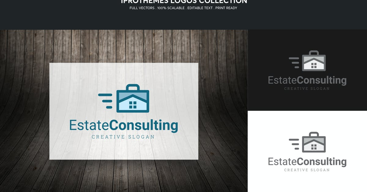 Download Estate Consulting Logo Template by 1protheme