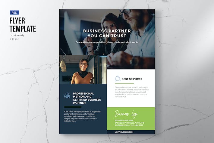 Thumbnail for Business Flyer Template