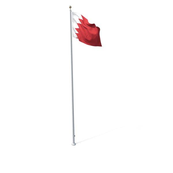 Thumbnail for Flag On Pole Bahrain