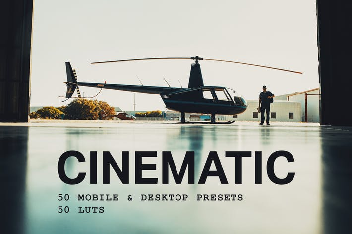 Thumbnail for 50 Cinematic Lightroom Presets and LUTs