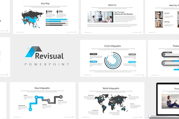 Thumbnail for Revisual : Powerpoint Presentation