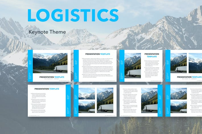Thumbnail for Logistics Keynote Theme