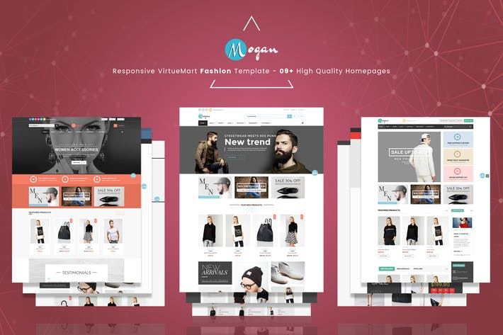 Thumbnail for Mogan - Responsive VirtueMart Fashion Template