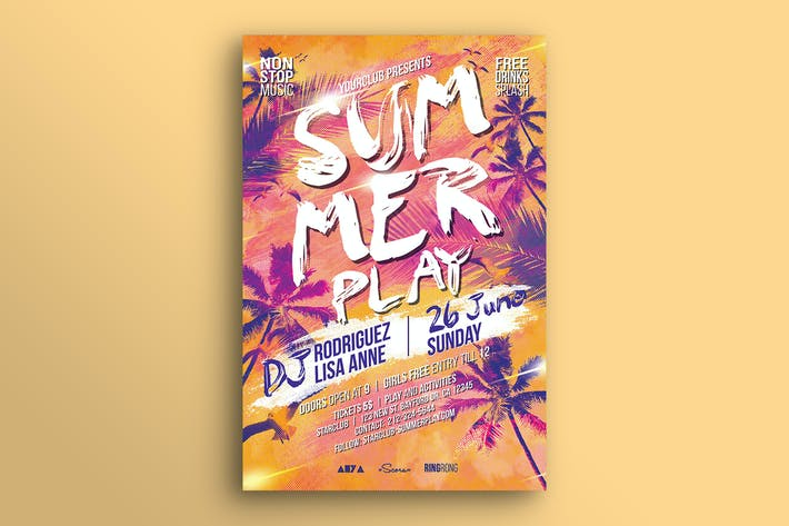 Thumbnail for Summer Play Flyer
