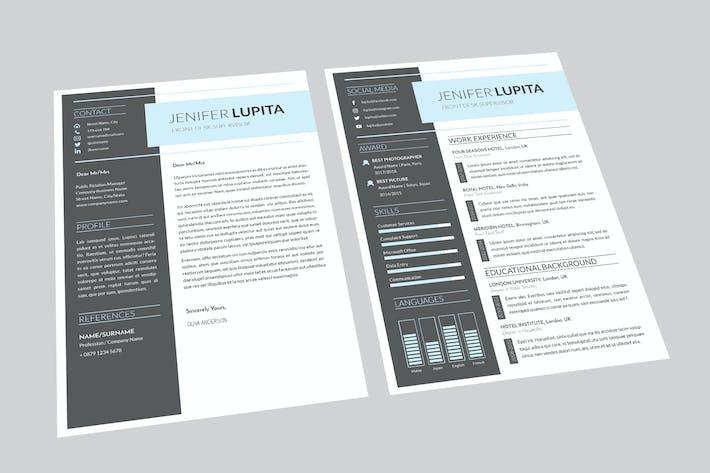Front Desk Resume Designer