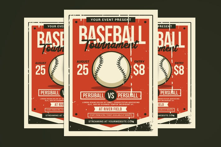 Thumbnail for Baseball Tournament Flyer