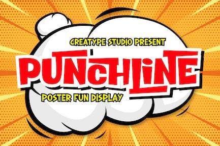 Punchline Poster Business Font