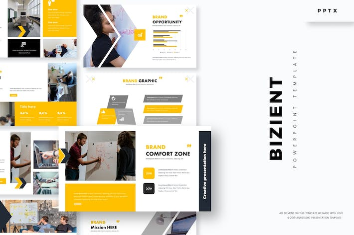 Cover Image For Bizient - Powerpoint Template
