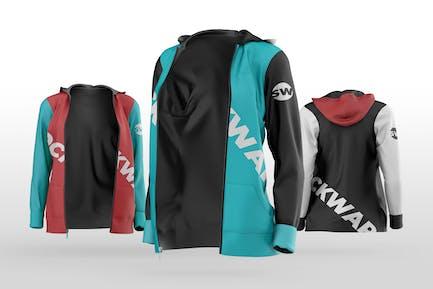 Women's Sports Jacket Mockup