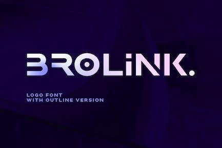 Brolink - Fuente Logo