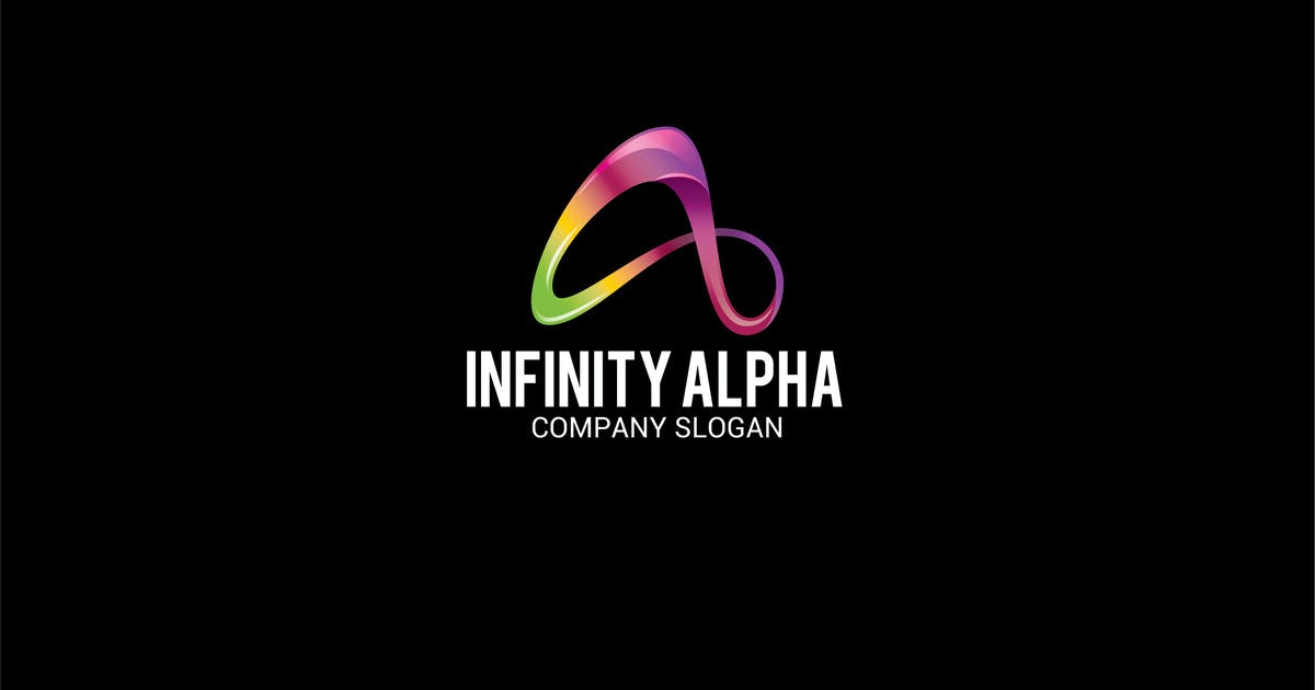 Download INFINITY ALPHA Letter A Logo by shazidesigns