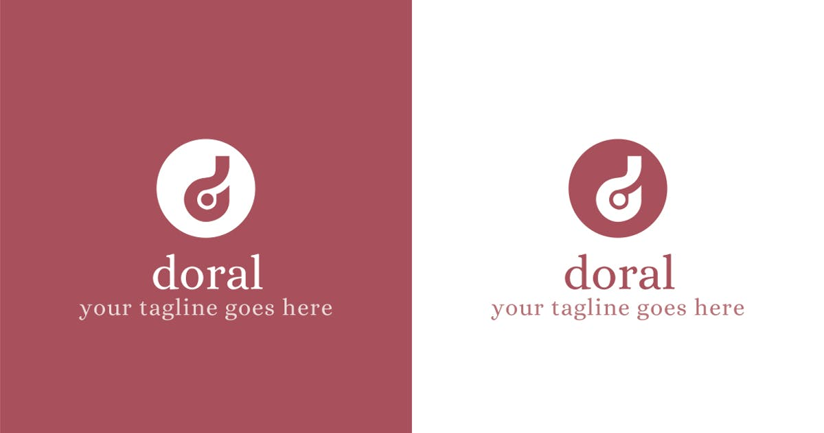 Download Doral - D Letter Logo Template by ThemeWisdom