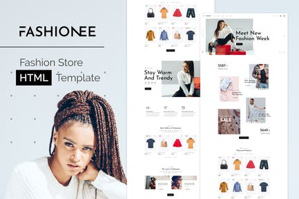 Mollee - Fashion Store HTML Template
