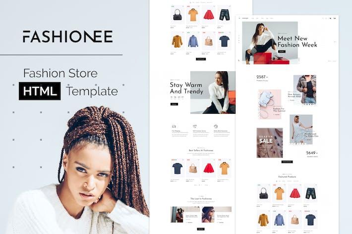 Mollee - Modèle HTML de magasin de mode
