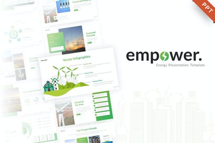 Empower Ecology PowerPoint Template