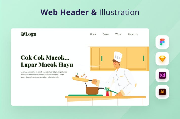 Thumbnail for Cooking & Restaurant Web Header