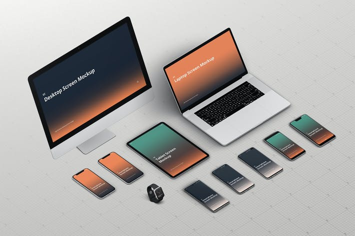 Thumbnail for Multi Device Screen Mockup Creator