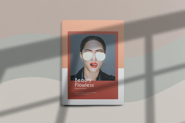 Thumbnail for Beauty Flawless - Magazine Template
