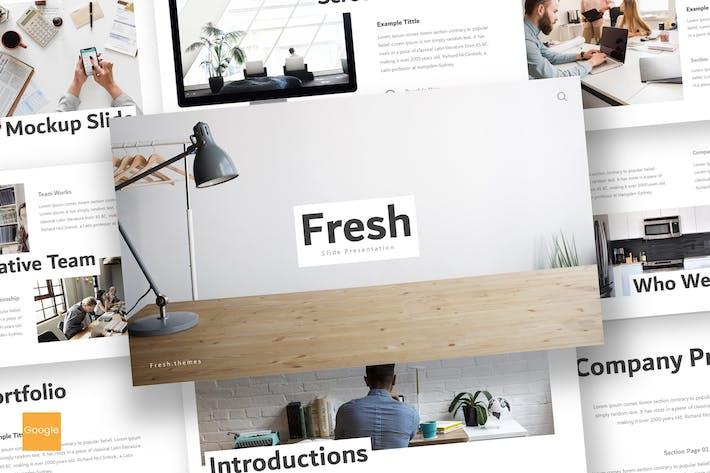 Thumbnail for Fresh - Google Slides Template