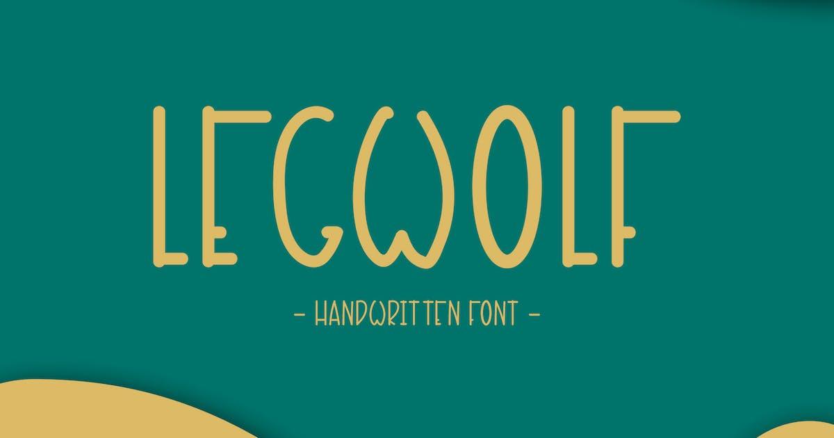 Download Legwolf - Handwritten Font DR by Rometheme