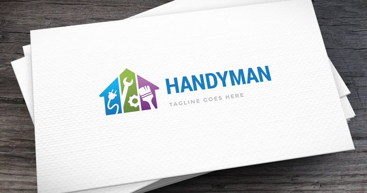Handyman Logo Template by empativo