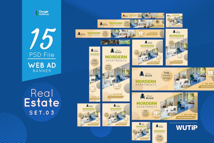 Thumbnail for Web Ad Banners - Real Estate 03