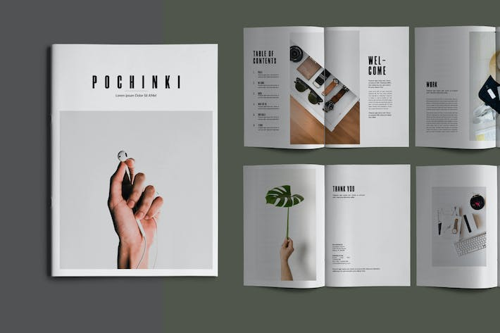 Thumbnail for Pochinky - Brochure Template