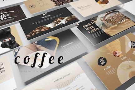 кофе Google слайды