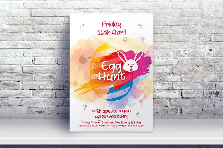 Cover Image For Easter Egg Hunt Flyer