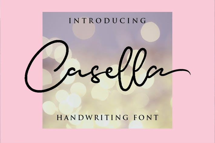 Casella - Beauty Handwriting police