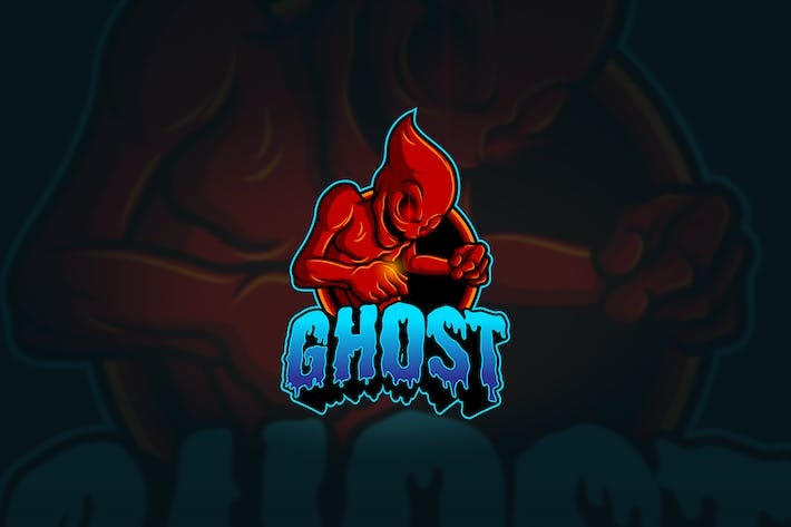 Thumbnail for Ghost - Mascot & Esport Logo