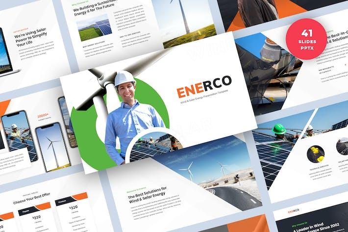 Thumbnail for Шаблон PowerPoint Презентация возобновляемых источников энергии