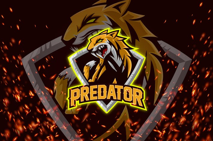 Thumbnail for Predator - Esport & Mascot Logo
