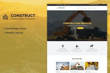 Construct - Construction & Building Business