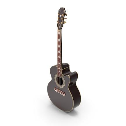 Electro Acoustic Guitar Black