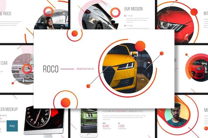 Thumbnail for Roco - Automotive Keynote Template