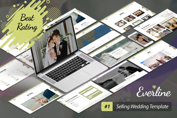 Thumbnail for Everline - Wedding Joomla Template