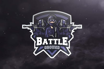 Battle Ground Sport and Esports Logos
