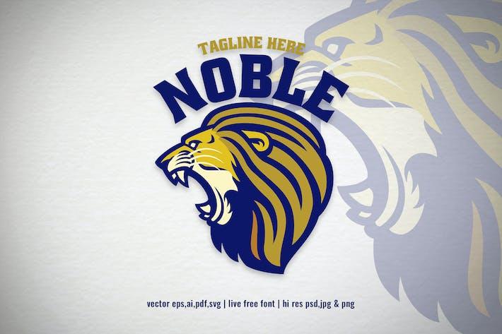 Thumbnail for lion head mascot for logo