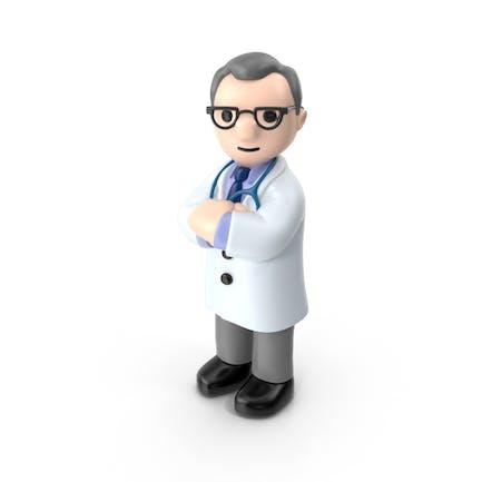 Doctor de dibujos animados