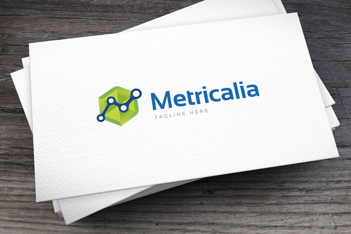 Thumbnail for Metrics Logo Template