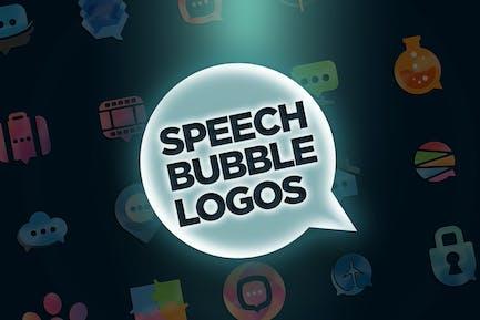30 Speech Bubble Logos