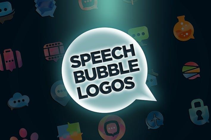 Cover Image For 30 Speech Bubble Logos