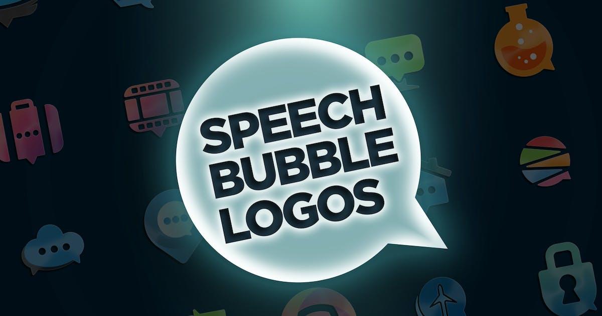 Download 30 Speech Bubble Logos by Suhandi