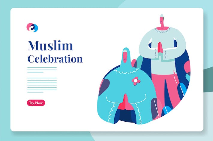 Thumbnail for Muslim ramadhan or eid celebration