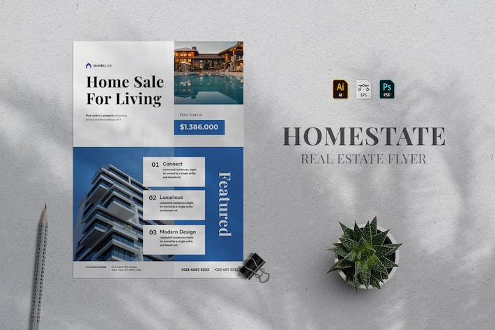 Thumbnail for Real Estate Flyer 14