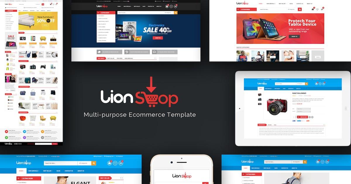 Download Lion - Responsive Prestashop Theme by Plaza-Themes
