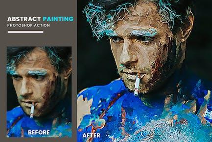 Экшен Photoshop Абстрактная