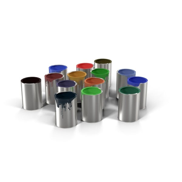 Thumbnail for Paint Buckets (Cans)