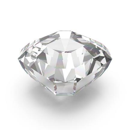 Diamant im Asscher-Schliff